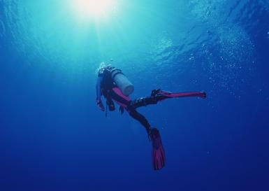 What is a no-decompression limit in diving?