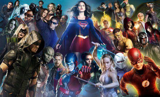 Arrow Flash Supergirl Legends Of Tomorrow The Mega Crossover