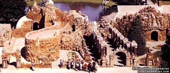 Father Paul Dobberstein's Grotto of the Redemption