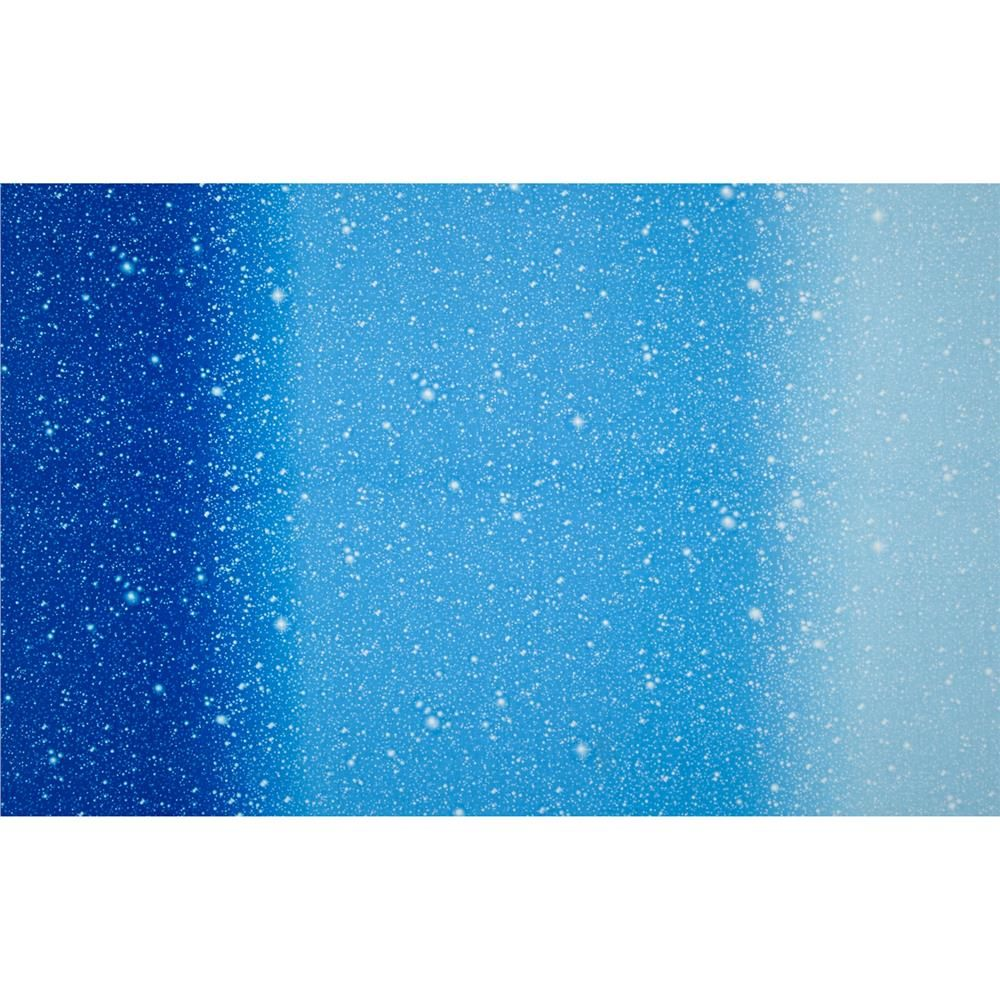 """I Want My Space 57"""" Wide Ombre Stars Blue from"""