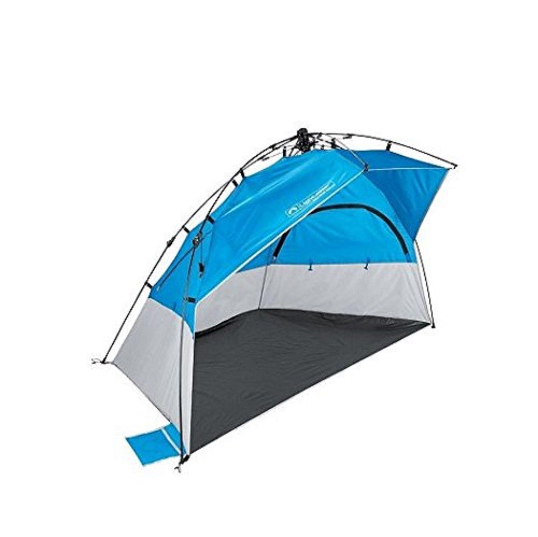 Lightspeed Outdoors Pop-Up Kona Sport Shelter Beach Tent Blue (Kona Blue)  sc 1 st  Pinterest & Lightspeed Outdoors Pop-Up Kona Sport Shelter Beach Tent Blue ...