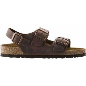 Mens Milano Habana Oiled Leather Sandals – Brown – Birkenstock Sandals