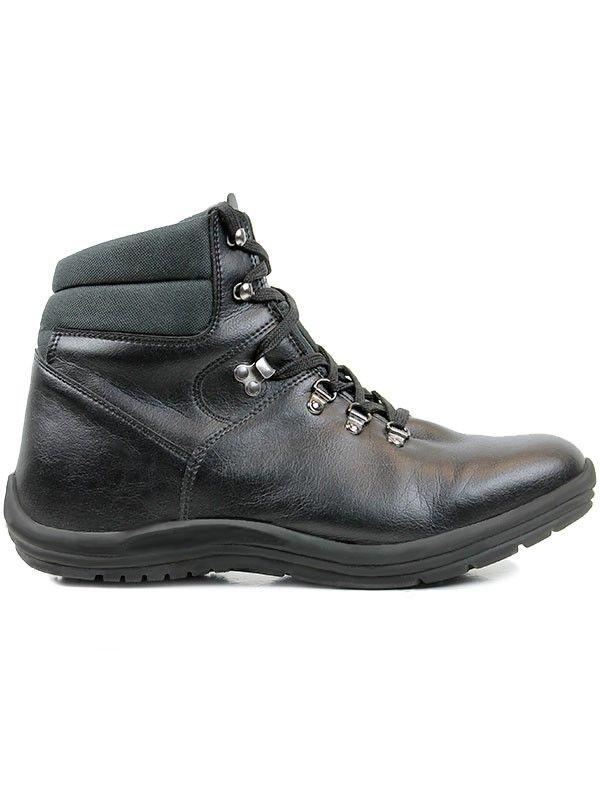 2a0476b7d57d Vegan mens hiking boots in black by Wills London