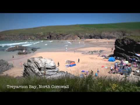 Life's a beach: a digital postcard from Cornwall - YouTube