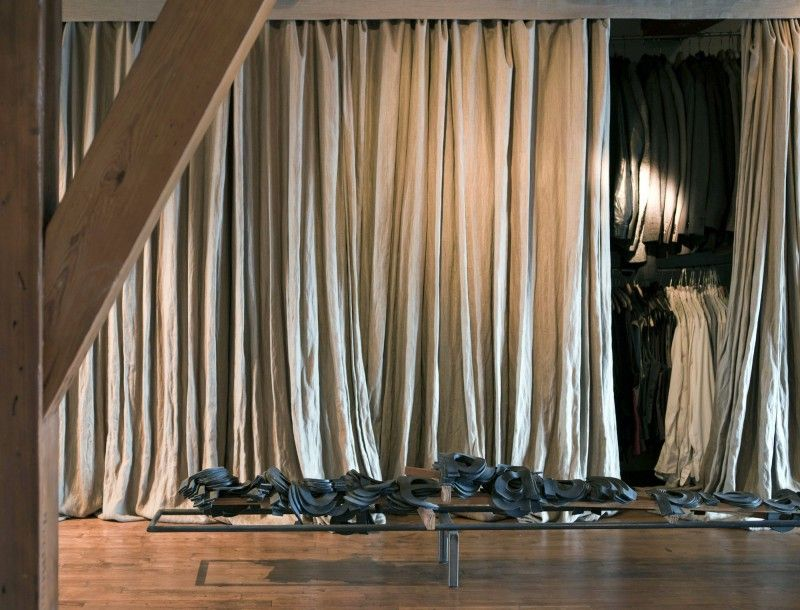 Amsterdam loft by uxus drapes curtainswhite