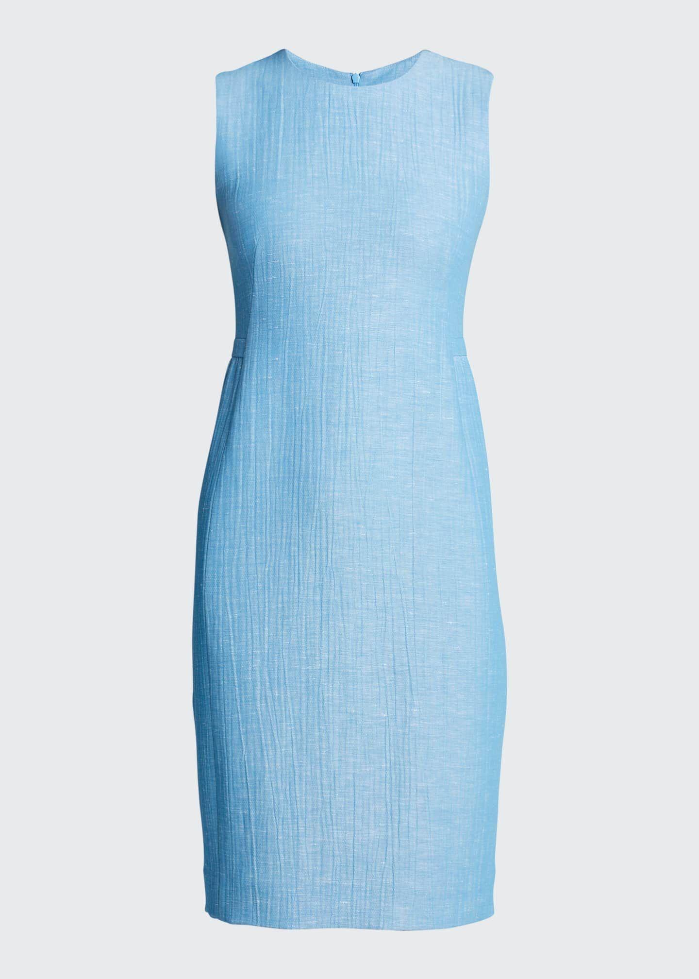Akris Wool Blend Sleeveless Sheath Dress Akris Dress Dresses Sleeveless Sheath Dress [ 2016 x 1440 Pixel ]