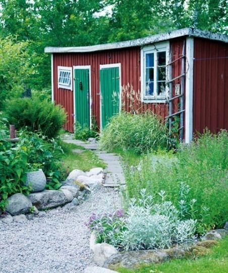 Etonnant Swedish Garden Cottage
