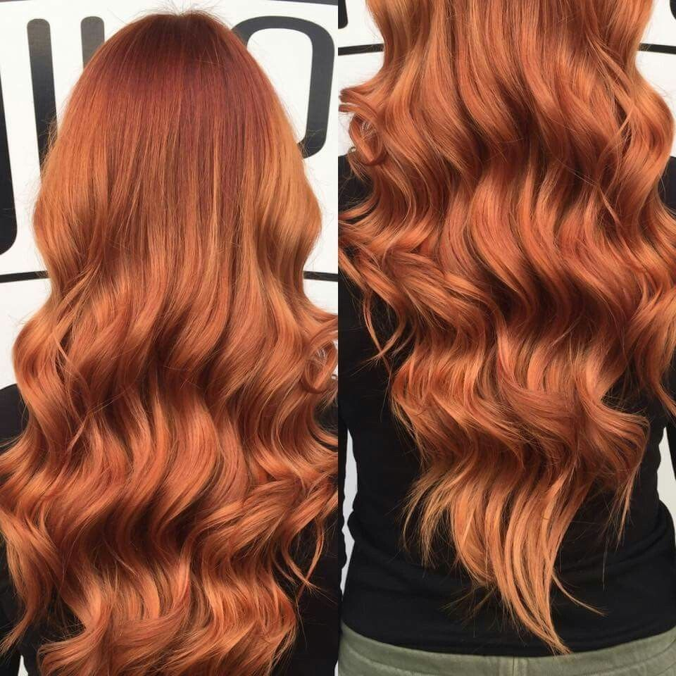 Copper And Mahogany Balayage Soft Natural Grow Out For Low