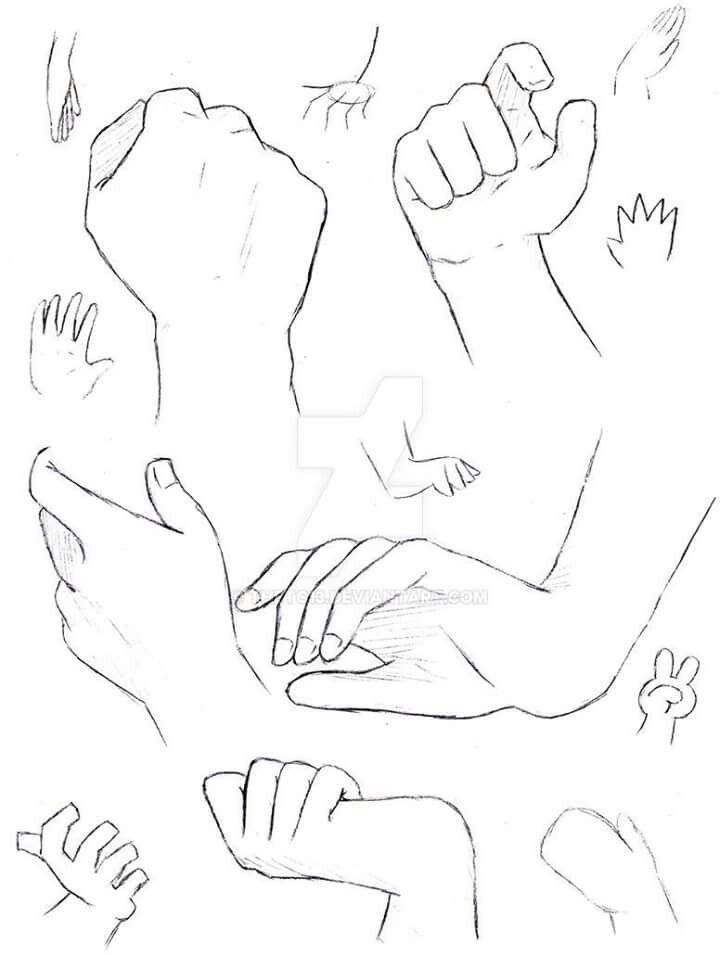 Pin By Antonio Dasilva On Maos Anime Drawings Hand Holding Something Drawings