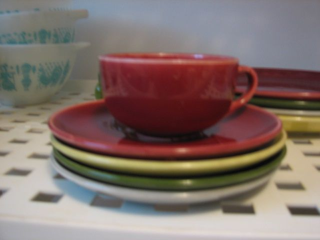 Vintage 1950\u0027s 20 pc dinnerware set $50. | Flickr - Photo Sharing! & Vintage 1950\u0027s 20 pc dinnerware set $50. | Dinnerware Salad ...