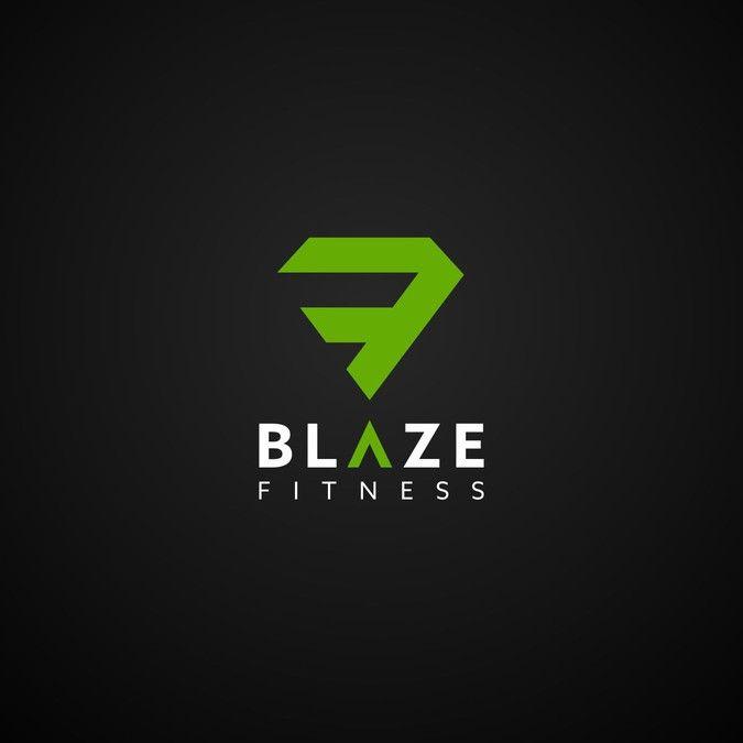 Blaze Logo By Strobok Logo Design Logo Inspiration Fitness Logo