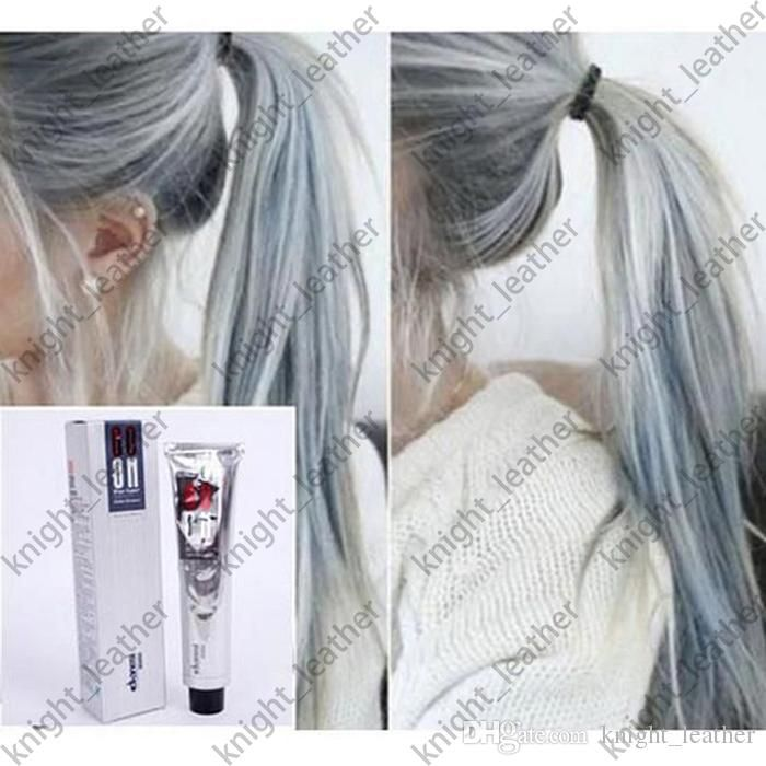 2016 100ml Goon Hair Color Cream Light Grey Color Permanent Super ...