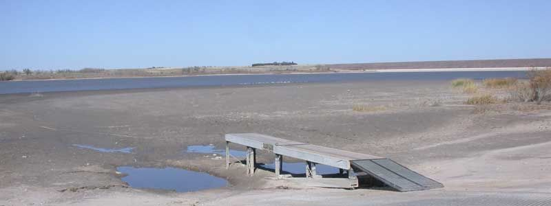 Bonny Lake: October 31, 2011.  Oops, Kansas confiscated the water and the lake no longer exists