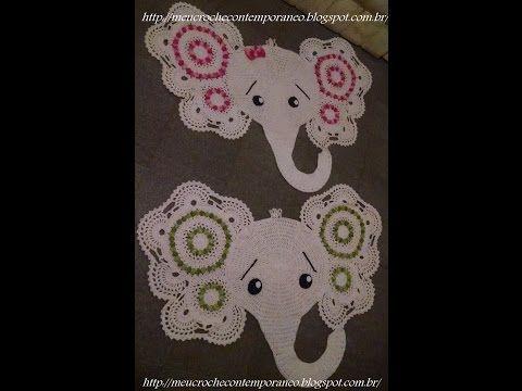 Tapete Elefantinha Graciosa 1ª Parte Elephant Rug Part 1