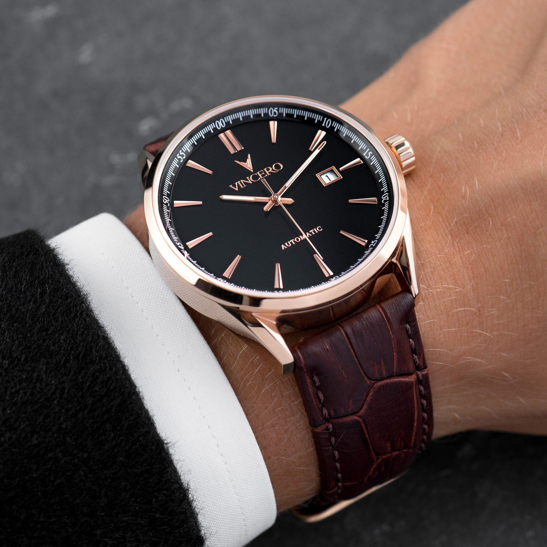 Men S Dress Watch Rose Gold Vincero Collective Luxury Watches For Men Mens Dress Watches Watches For Men