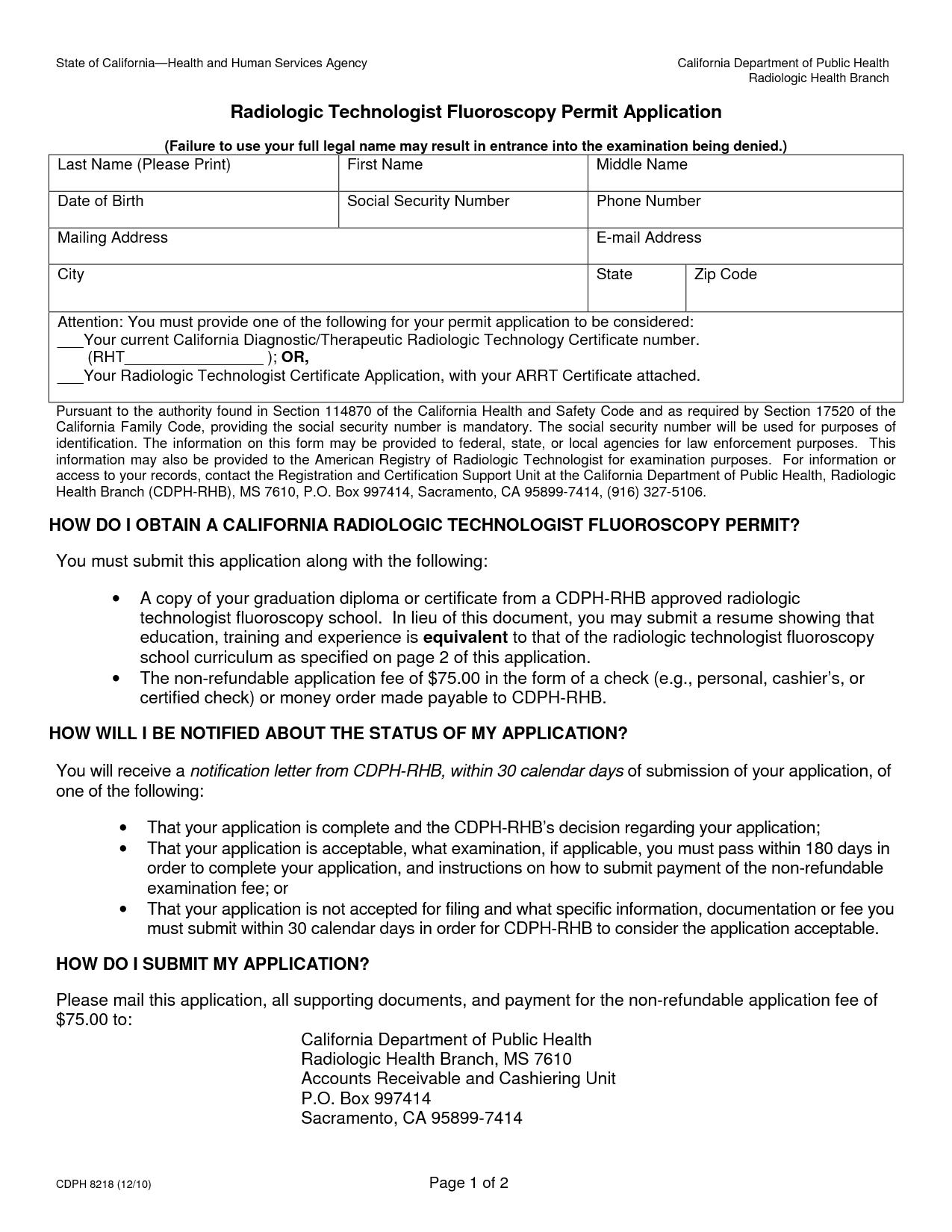 X Ray Technician Resume Format Resume Templates Radiology Technologist Xray Technician Radiology Technician