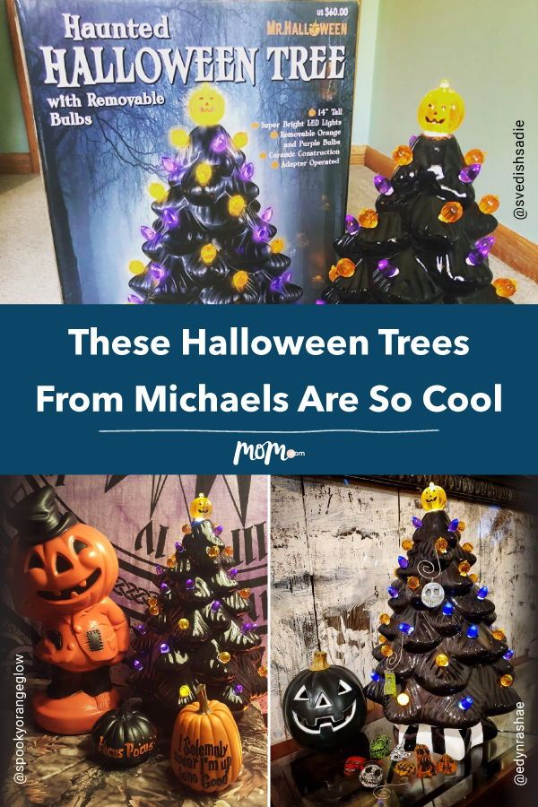 People Are Obsessed With These Halloween Trees From
