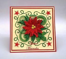 Quilling my passion felicitare de craciun christmas card videos art also best  xmas to do images patterns flakes rh pinterest