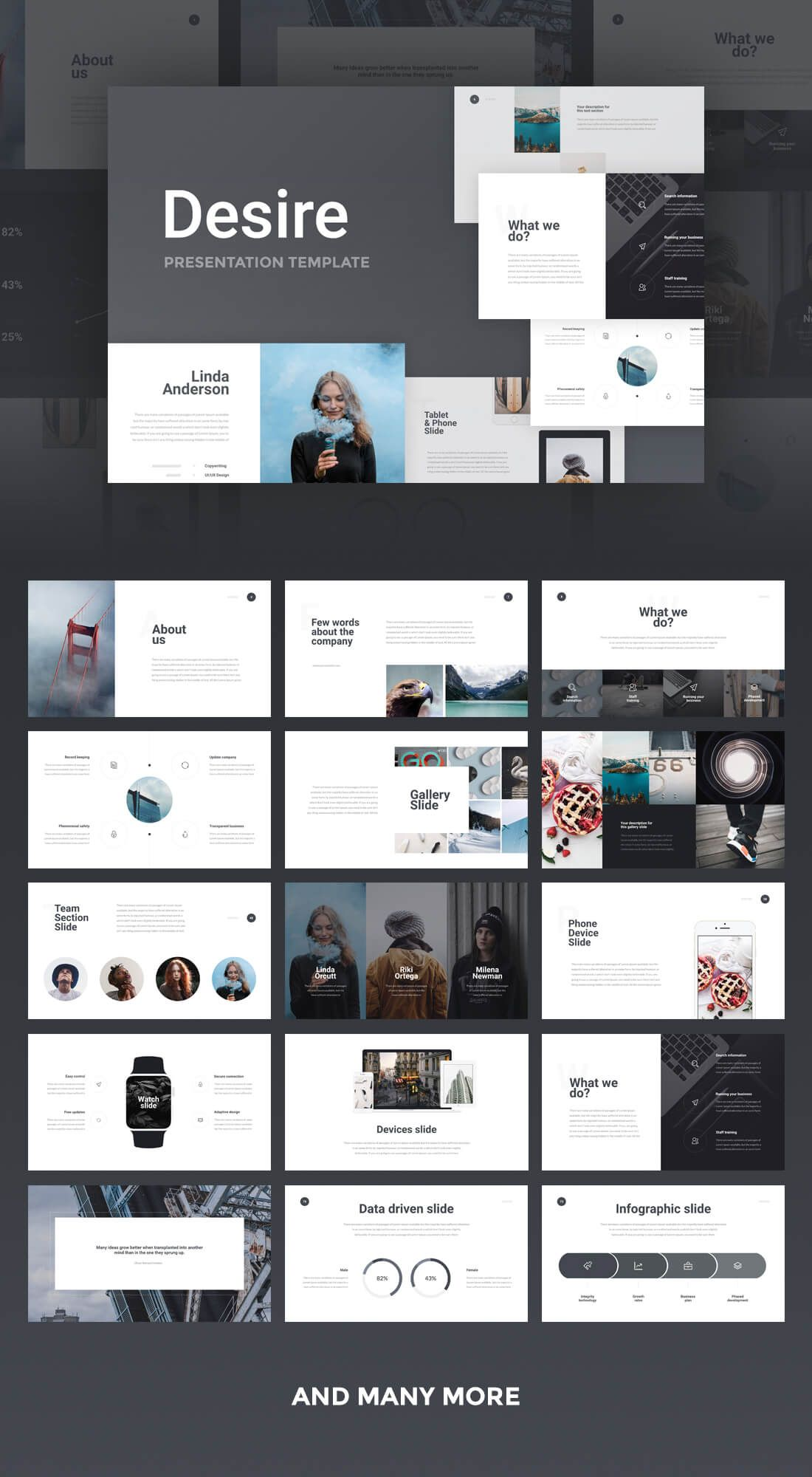 this set of 14+14 slick presentation templates are compatible with, Presentation templates