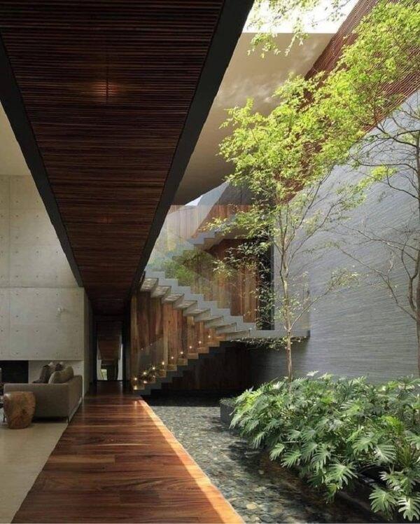 Escada de Vidro: +58 Projetos Imponentes Para se Apaixonar