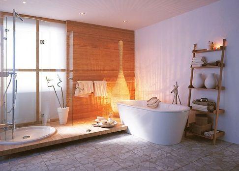 wellness badezimmer als private spa sch ner wohnen privat und badezimmer. Black Bedroom Furniture Sets. Home Design Ideas