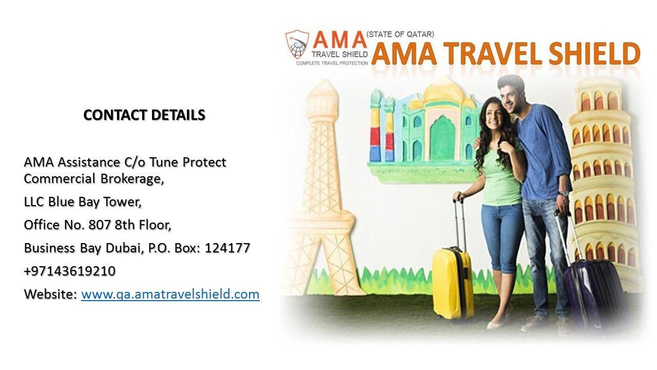 International Travel Insurance in Qatar AMA Travel Shield
