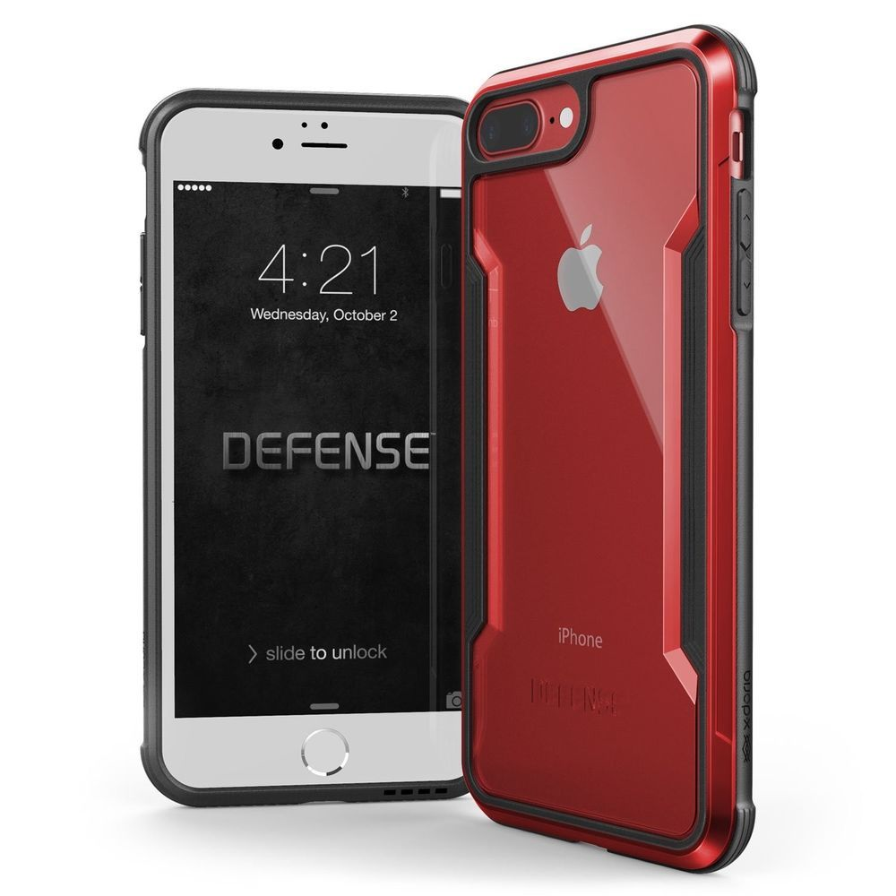 Iphone 7 Plus Case Defense Shield Series Military Grade Drop Tested Samsung Galaxy J7 Black Free Anker Poweport Cover Red Cell Phones Accessories Phone Cases Covers Skins