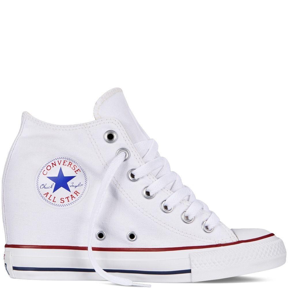 zapatillas converse unisex blancas