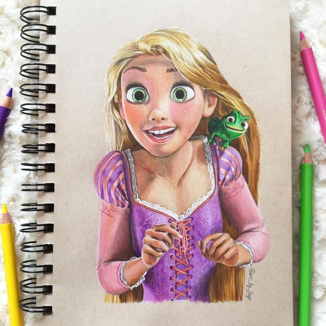 rapunzel is finally finished who s