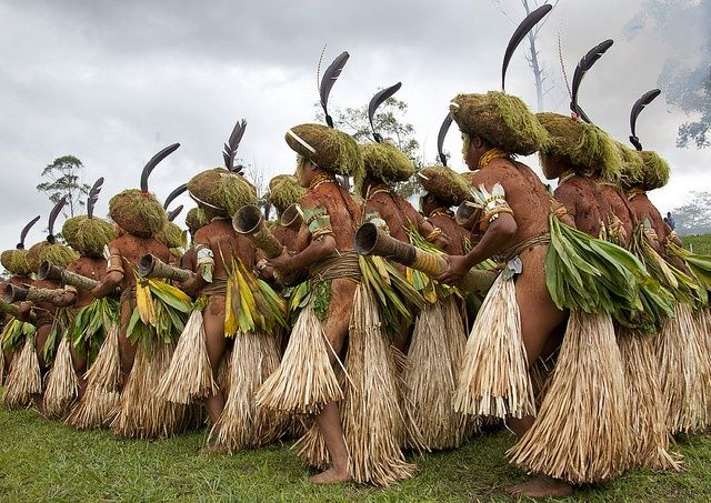 Papua New Guinea Tribes | ... Muli tribe in Mount Hagen festival singsing in Papua New Guinea #PNG