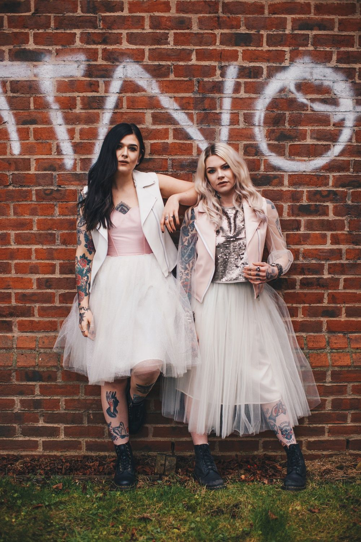 Born to thread way out wedding punk wedding dresses