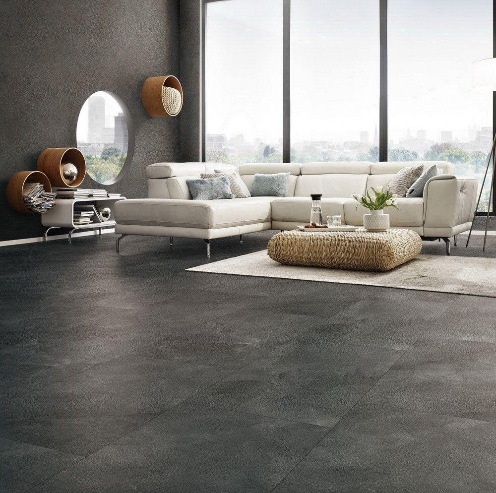 7323 Stone Look Tile In 2020 Concrete Floors Living Room Grey Tiles Living Room Living Room Tiles #stone #floor #living #room