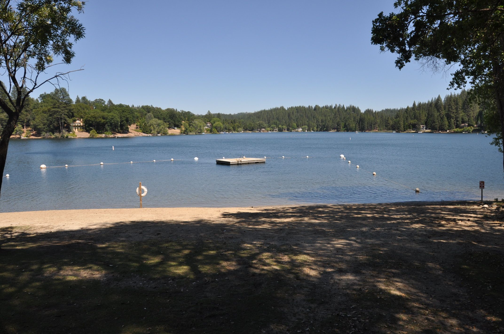 The Dock At Pine Mountain Lakes Dunn Court Beach Located In Groveland Ca