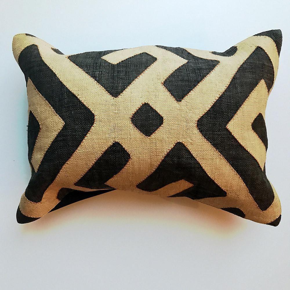 Kuba lumbar pillow case
