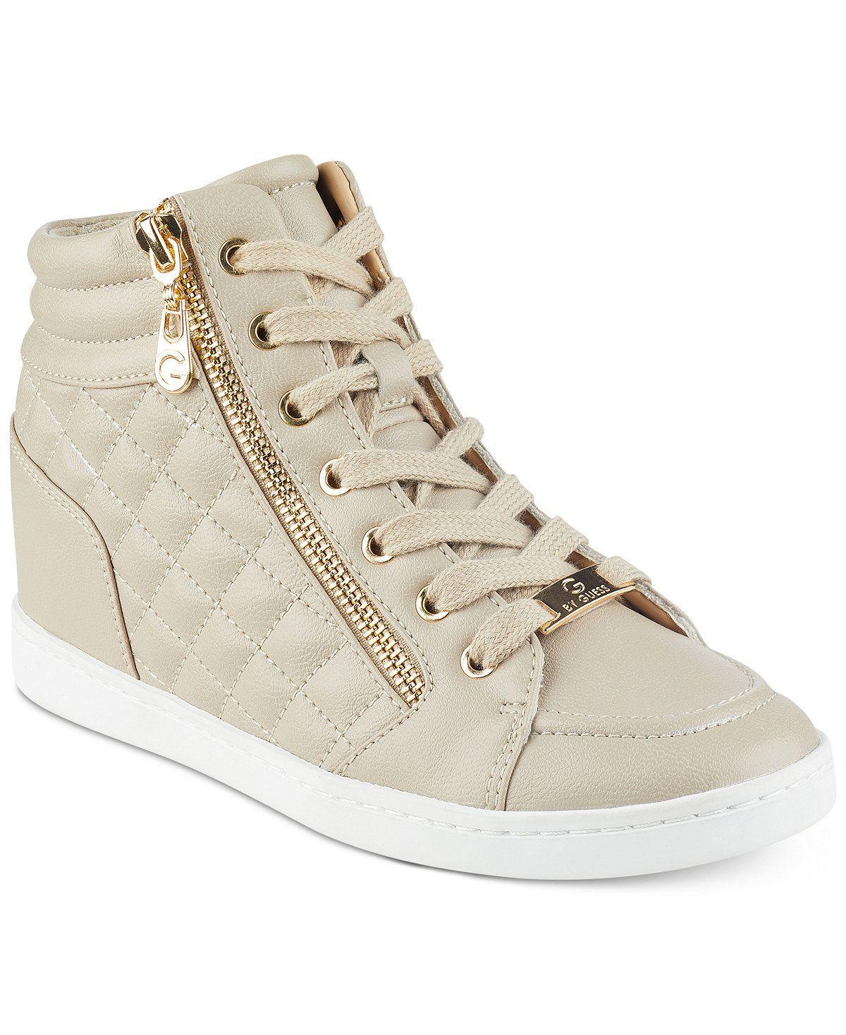 31c20543 G by GUESS Daryl High-Top Sneakers - Sneakers - Shoes - Macy's ...