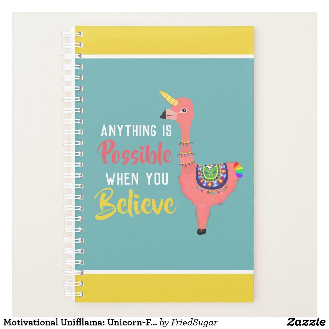 Motivational Unifllama Unicorn Flamingo Llama Planner