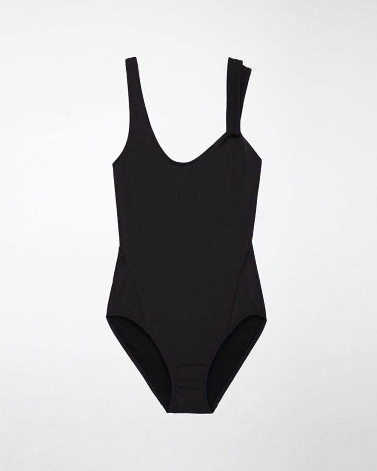11 Black One-Pieces Sexier Than Any Bikini Around  - ELLE.com