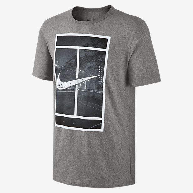 nike tennis logo t shirt