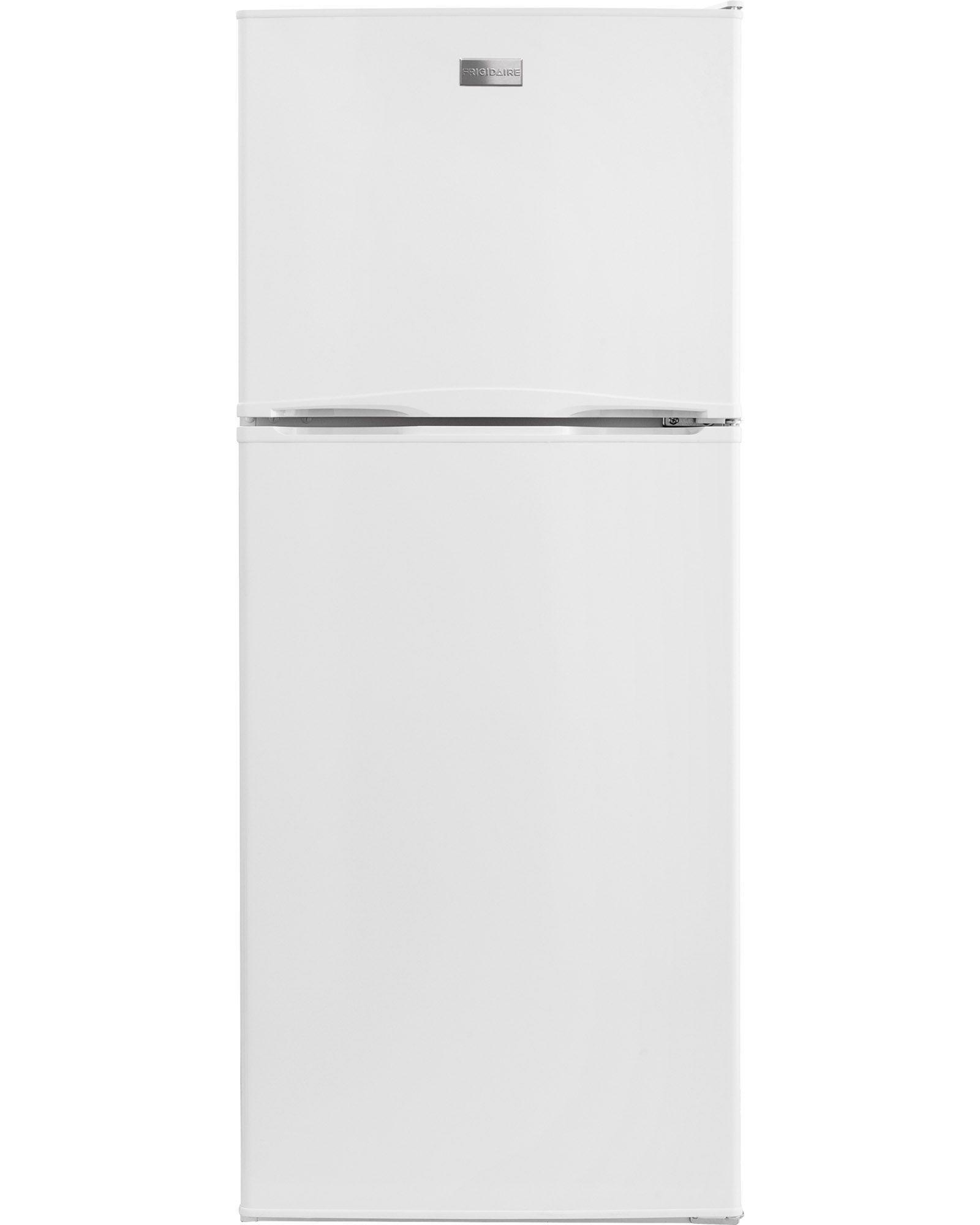 STANDARD OPTION? The Frigidaire 9.9 cu. ft. Top Freezer ...