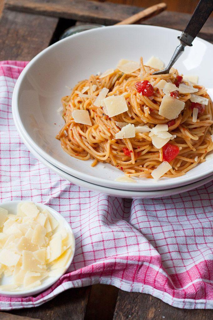 one pot pasta grundrezept schnell einfach und genial gut rezept one pot gerichte pinterest. Black Bedroom Furniture Sets. Home Design Ideas
