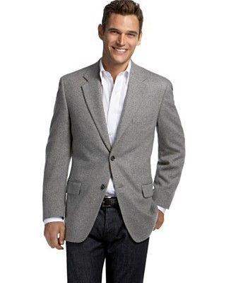 Grey Sports Coat With Black Pants Fasion In 2018 Pinterest