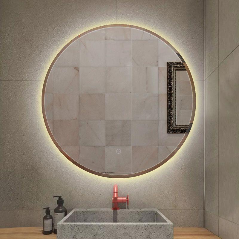 28++ Eclairage miroir rond salle de bain ideas in 2021