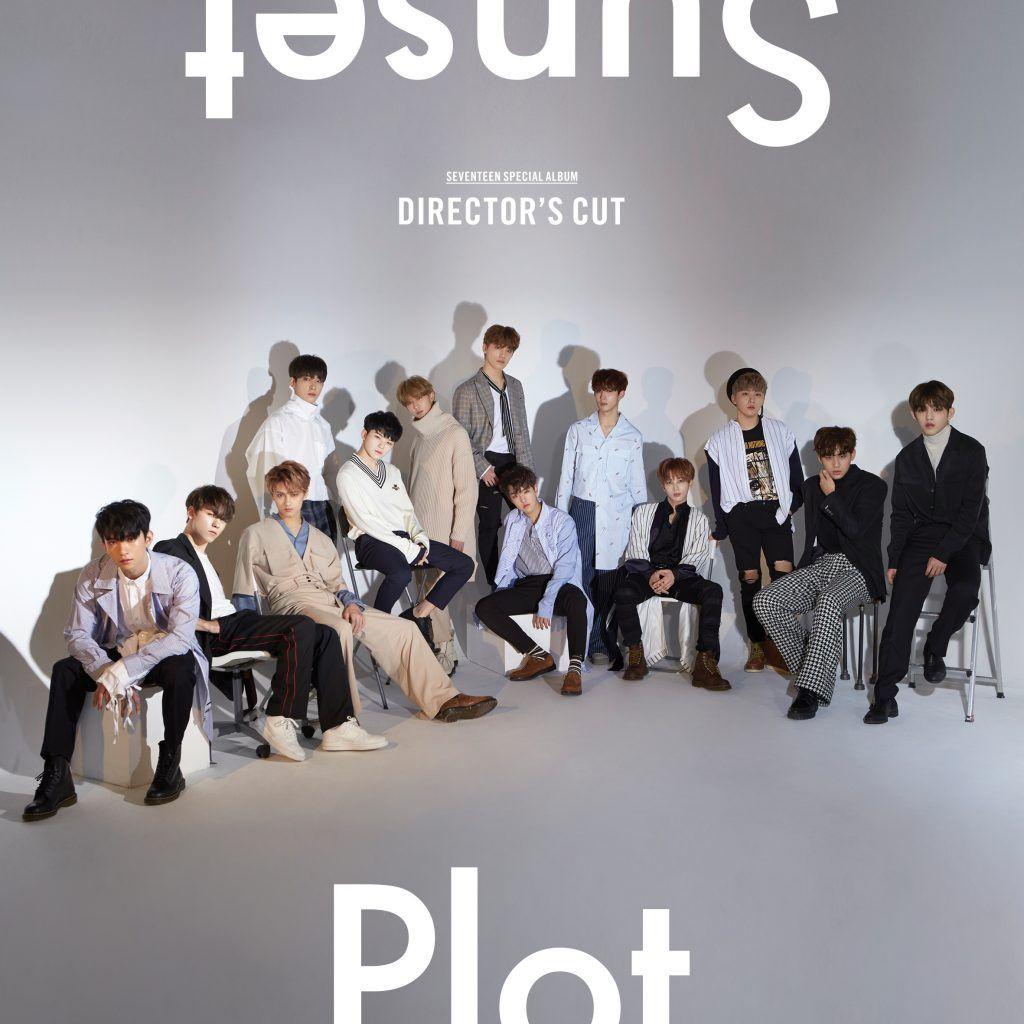 SEVENTEEN - 'DIRECTOR'S CUT' Album Cover | ~~ Kpop Albums