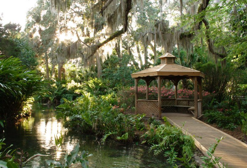 7 Perfect Venues For A Woodland Wedding Woodland Wedding Enchanted Garden Wedding Garden Gazebo