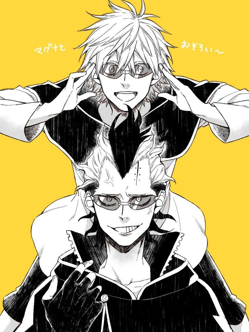 Magna E Luck Black Clover Anime Black Clover Manga Black Bull
