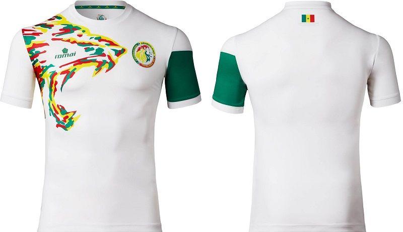 a601259a667d5 Camisas de Senegal 2017 Romai Sports