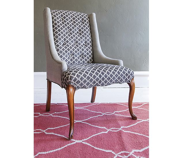 Exceptional Recently Sold | Christa Pirl Furniture, Little Gray Accent Chair, Queen Anne  Style.