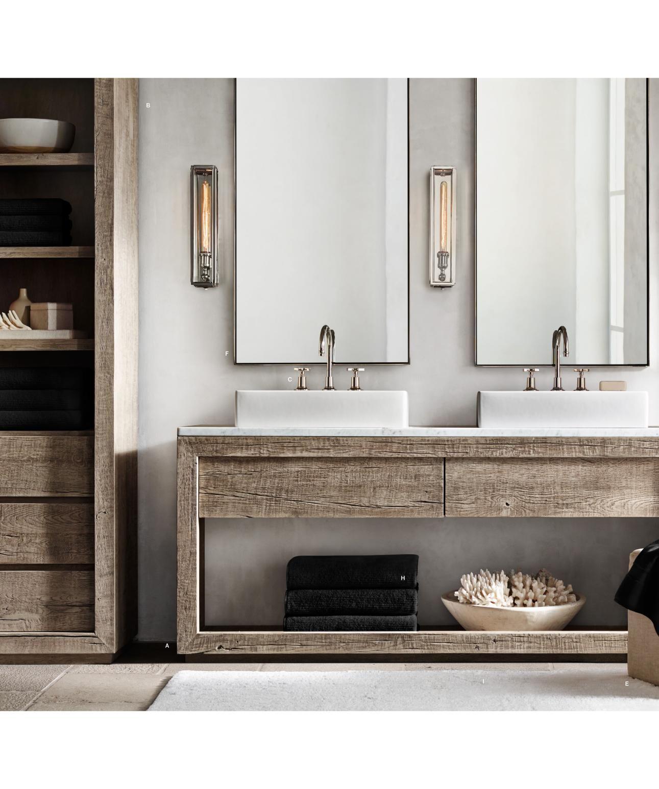 Rh Source Books Restoration Hardware Bathroom Bathroom Interior Bathroom Inspiration