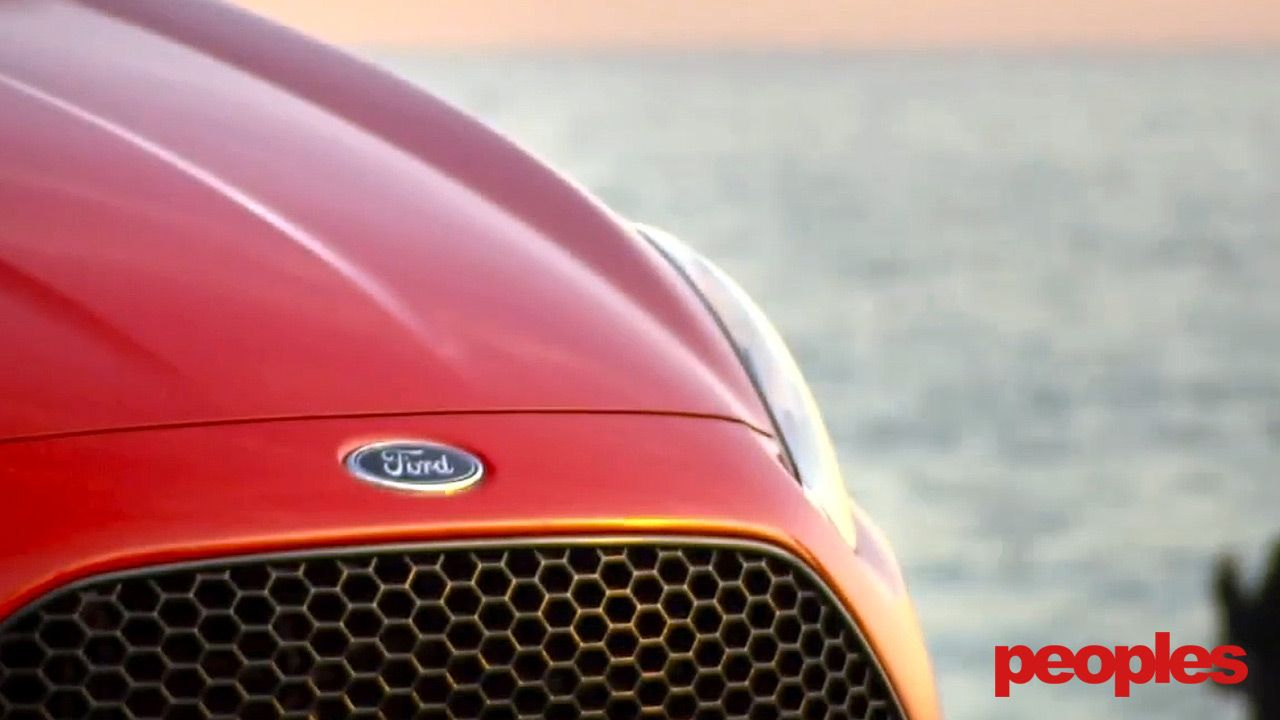 The Front Of The Ford Fiesta St Looks Very Mean With A Big