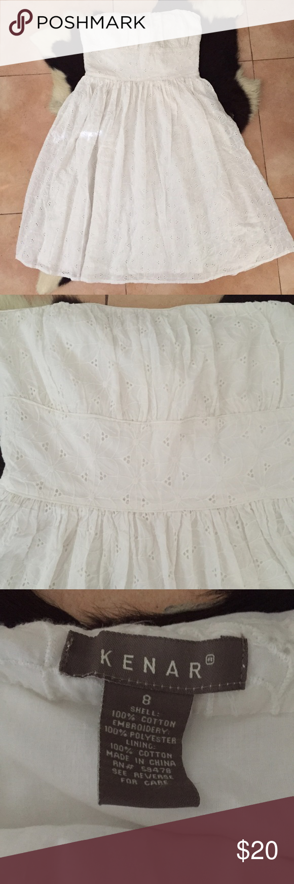 🎈Flash Sale🎈Kenar strapless dress 🎈Flash Sale🎈This sale will only last 24 hours. After that, items will go back to regular price. ($15) Beautiful Kenar white strapless dress. Perfect for summer days. Ask any question. Bundle 2 or more items and save 15% Reasonable offers are welcome! Kenar Dresses Strapless